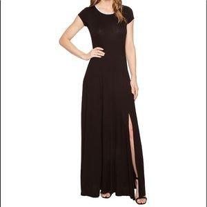 Michael Kors NWT Black Knit Maxi Dress size M